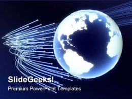 Business Globe PowerPoint Template 1010