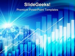 Business Graph PowerPoint Template 0910