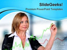 Business Growth Finance PowerPoint Templates And PowerPoint Backgrounds 0411