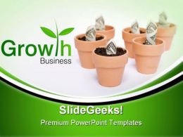 Business Growth Finance PowerPoint Templates And PowerPoint Backgrounds 0711