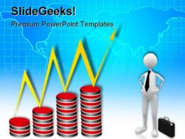 Business Growth Success Global PowerPoint Templates And PowerPoint Backgrounds 0511