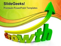 Business Growth Success Gradient PowerPoint Templates And PowerPoint Backgrounds 0511