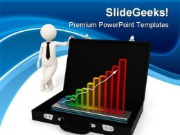 Business Growth Success PowerPoint Templates And PowerPoint Backgrounds 0211