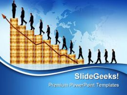 Business Growth Success PowerPoint Templates And PowerPoint Backgrounds 0611
