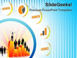 Business Growth Success PowerPoint Templates And PowerPoint Backgrounds 0711