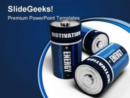 Business Motivation Energy Metaphor PowerPoint Templates And PowerPoint Backgrounds 0211