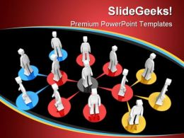 Business Network01 People PowerPoint Background And Template 1210  Presentation Themes and Graphics Slide01