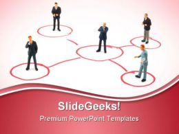 Business People Communication PowerPoint Templates And PowerPoint Backgrounds 0811