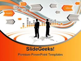 Business People PowerPoint Template 0510