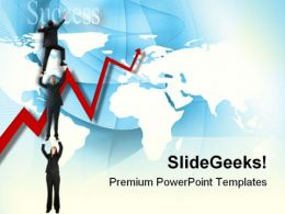 Business People Success PowerPoint Templates And PowerPoint Backgrounds 0811