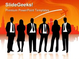 Business People Travel PowerPoint Templates And PowerPoint Backgrounds 0411