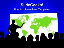 Business Performance Leadership PowerPoint Templates And PowerPoint Backgrounds 0611