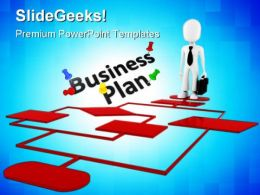 Business Plan Chart Metaphor PowerPoint Templates And PowerPoint Backgrounds 0311
