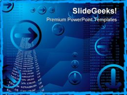 Business Results Abstract PowerPoint Templates And PowerPoint Backgrounds 0511