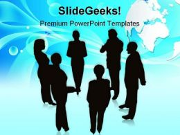 Business Team02 Global PowerPoint Templates And PowerPoint Backgrounds 0711