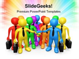 Business Team Communication PowerPoint Templates And PowerPoint Backgrounds 0511