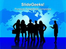 Business Team People PowerPoint Templates And PowerPoint Backgrounds 0411
