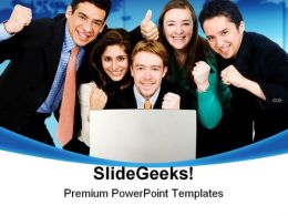 Business Team Success PowerPoint Backgrounds And Templates 1210