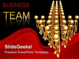 Business Team Success PowerPoint Templates And PowerPoint Backgrounds 0611