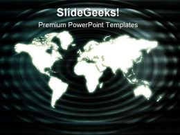 Business Technology Background Global PowerPoint Templates And PowerPoint Backgrounds 0511