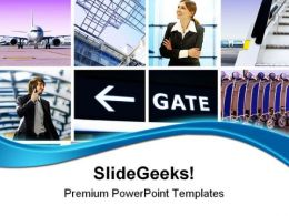 Business Trip Travel PowerPoint Templates And PowerPoint Backgrounds 0411