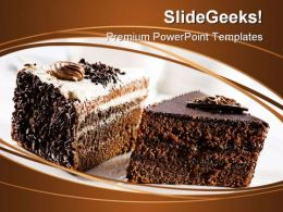 Cake Dessert Food PowerPoint Templates And PowerPoint Backgrounds 0211