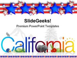 California Americana PowerPoint Templates And PowerPoint Backgrounds 0211