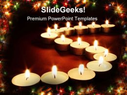 Candles04 Festival PowerPoint Templates And PowerPoint Backgrounds 0411