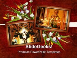 Card For Religion Festival PowerPoint Templates And PowerPoint Backgrounds 0311