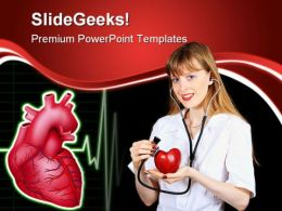 Cardiologist Doctor Medical PowerPoint Backgrounds And Templates 0111  Presentation Themes and Graphics Slide01