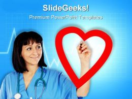 Cardiologist Medical PowerPoint Templates And PowerPoint Backgrounds 0811