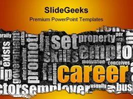 Career Business Future PowerPoint Template 1110