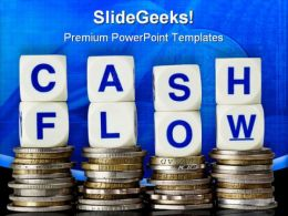 Cash Flow Money PowerPoint Template 0910