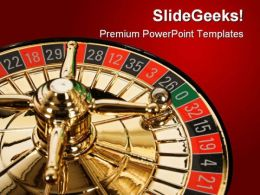 Casino Gamble Game PowerPoint Templates And PowerPoint Backgrounds 0811