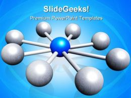 Centralization Leadership PowerPoint Templates And PowerPoint Backgrounds 0211