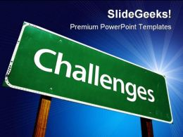 Challenges Business PowerPoint Templates And PowerPoint Backgrounds 0711