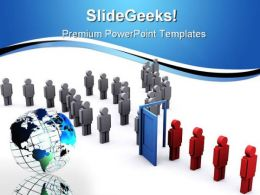 Changing Apperance PowerPoint Template 0910