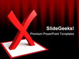 Check List Symbol PowerPoint Backgrounds And Templates 0111
