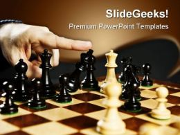 Check Mate In Chess Game PowerPoint Templates And PowerPoint Backgrounds 0211