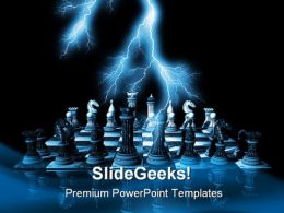 Chess Sports PowerPoint Backgrounds And Templates 1210