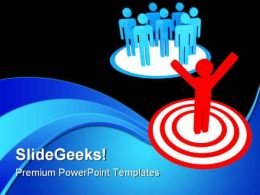 Choice Target Business PowerPoint Templates And PowerPoint Backgrounds 0611