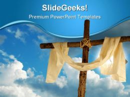 Christ Religion PowerPoint Template 0610  Presentation Themes and Graphics Slide01