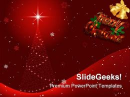 Christmas Abstract Background PowerPoint Templates And PowerPoint Backgrounds 0711