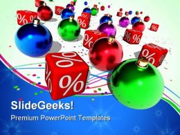 Christmas Discount Sales PowerPoint Templates And PowerPoint Backgrounds 0611