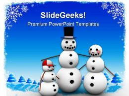 Christmas Family PowerPoint Backgrounds And Templates 0111