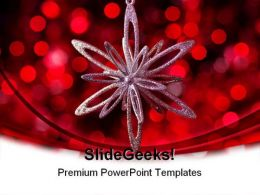 Christmas Festival PowerPoint Backgrounds And Templates 0111
