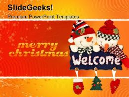 Christmas Toys Festival PowerPoint Templates And PowerPoint Backgrounds 0911