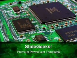 Circuit Board Computer Template 1010