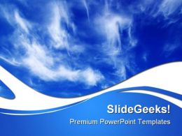 Clouds Nature PowerPoint Templates And PowerPoint Backgrounds 0811