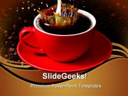 Coffee Food PowerPoint Templates And PowerPoint Backgrounds 0511